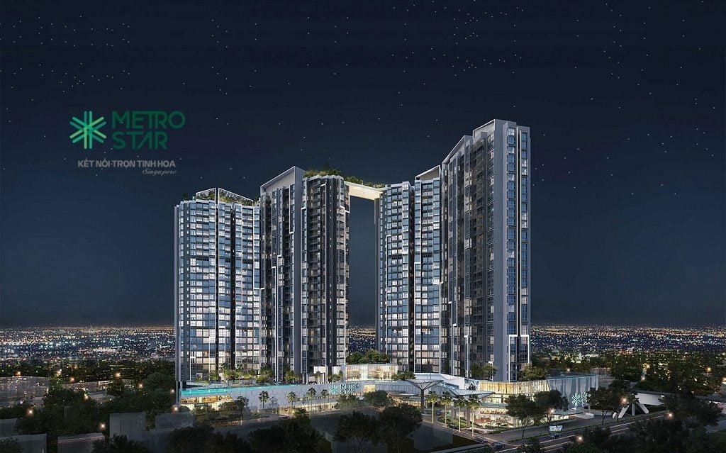 Phối cảnh dự án căn hộ Metro Star Quận 9