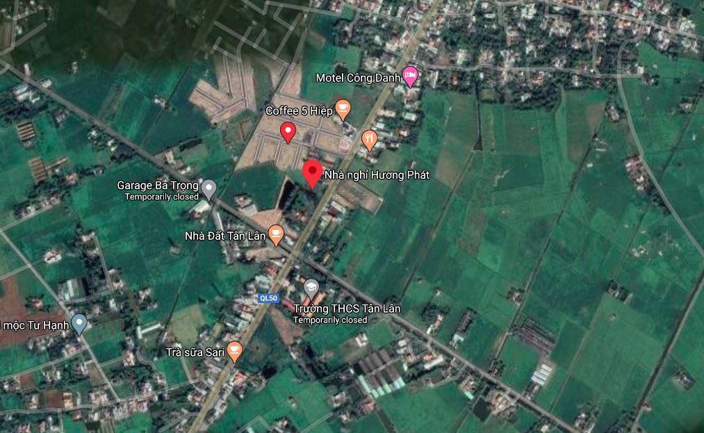 Vị trí đất nền Sài Gòn Centre Gate
