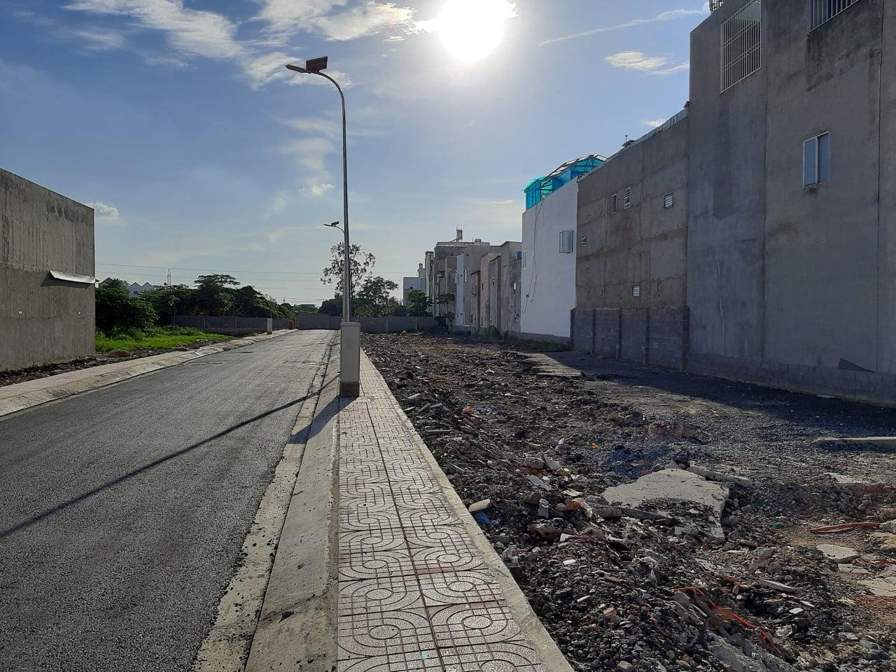 Hình ảnh thực tế đất nền Hẻm 51 đường 18B Bình Tân