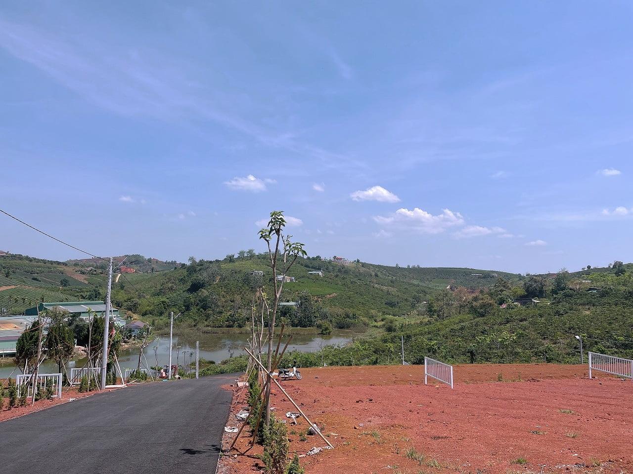 Hình thực tế Đất nền DamBri Lakeview Bảo Lộc